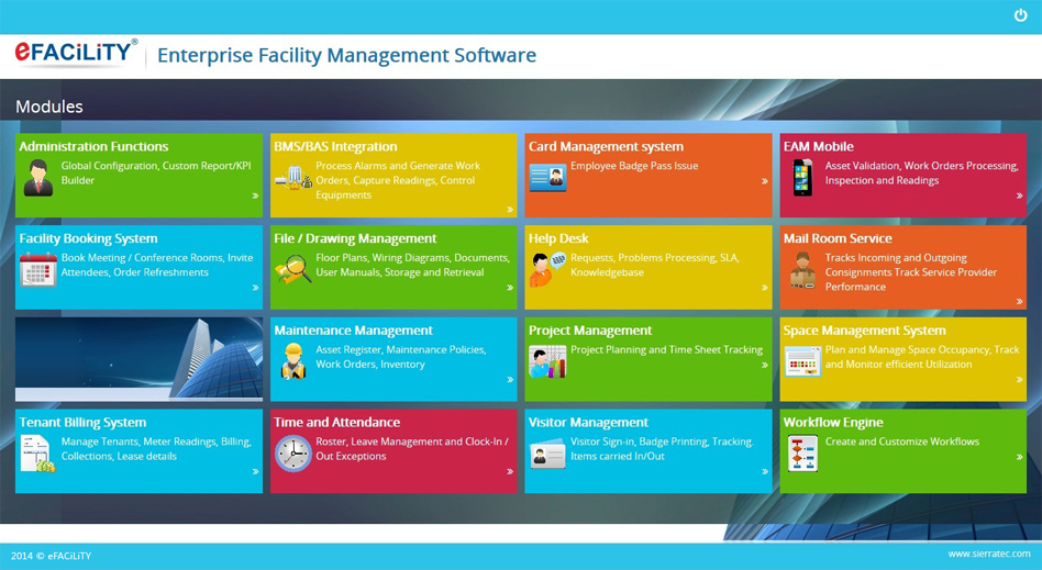 Enterprise Facility Management System